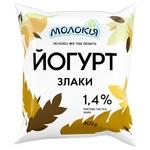 Йогурт Молокія Злаки питний 1.4% 400г