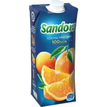 Сік Sandora апельсиновий 0,5л - купити, ціни на Фуршет - фото 1