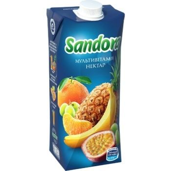 Нектар Sandora мультивітамінний 0,5л - купити, ціни на ЕКО Маркет - фото 1