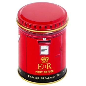 Чай черный Ahmad English Breakfast рассыпной ж/б 25г Почтовая будка