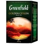 Чай Greenfield Golden Ceylon 200г