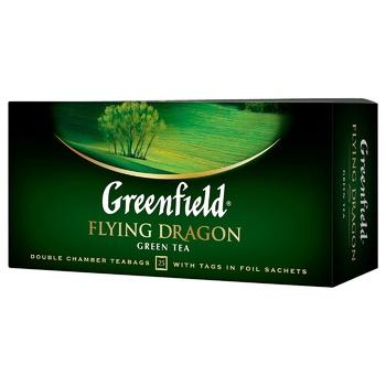 Чай зеленый Greenfield Flying Dragon 2г*25шт - купить, цены на СитиМаркет - фото 3