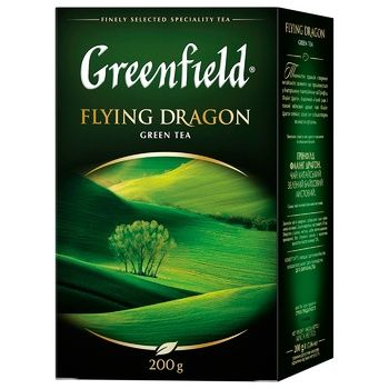 Чай зеленый Greenfield Flying Dragon 200г - купить, цены на Восторг - фото 1
