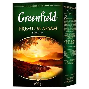 Greenfield Premium Assam Black Tea - buy, prices for CityMarket - photo 1