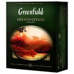Чай Greenfield Golden Ceylon 100пак