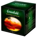 Чай Greenfield Golden Ceylon 120пак - купити, ціни на Метро - фото 1