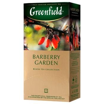 Чай Greenfield Barberry Garden 25пак