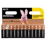 Батарейки Duracell AA лужні 12шт