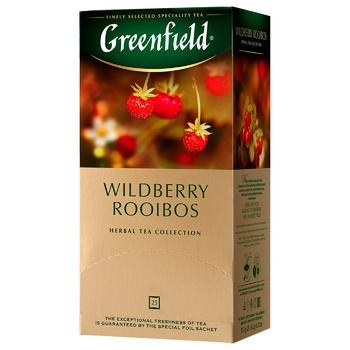 Greenfield Wildberry Rooibos 25 tea-bags