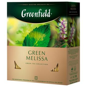 Чай Greenfield Green Melissa 100пак