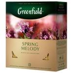 Чай Greenfield Spring Melody 100пак