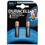 Батарейки Duracell Turbomax ААА 2шт