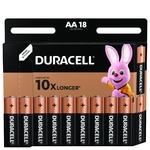 Duracell AA Alkaline Batteries 18pcs