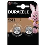 Батарейки Duracell CR2025 специализированные литиевые 2шт