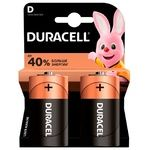 Батарейки Basic Duracell D, 2шт