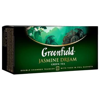 Чай зеленый Greenfield Jasmin Dream 25шт 2г - купить, цены на Ашан - фото 5