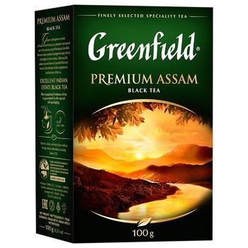 Greenfield Premium Assam Black Tea - buy, prices for CityMarket - photo 2