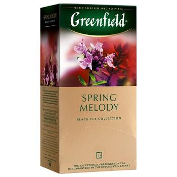 Чай черный Greenfield Spring Melody с тимьяном 25шт 1,5г - купить, цены на Восторг - фото 4