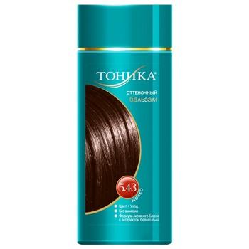 Бальзам для волос Тоника оттеночный мокко 150мл
