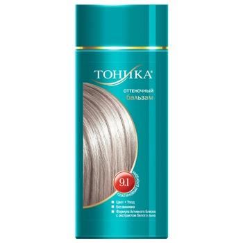 Бальзам для волос Тоника оттеночный Платиновый блондин 9.1 150мл