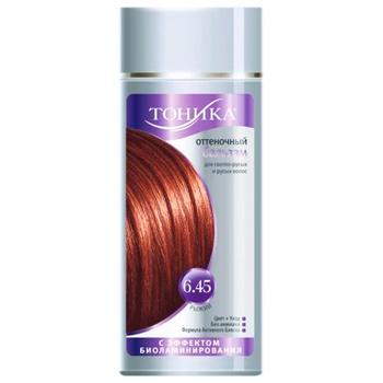Бальзам для волос Тоника оттеночный рыжий 150мл