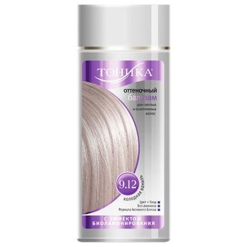Бальзам для волос Тоника оттеночный холодная ваниль 150мл