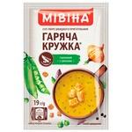 Суп-пюре МИВИНА® Горячая Кружка Гороховый с гренками 19г