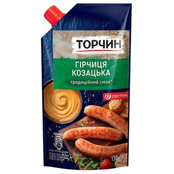 Гірчиця ТОРЧИН® Козацька 130г - купити, ціни на Метро - фото 1
