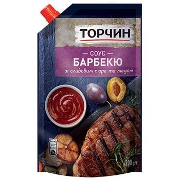 Соус ТОРЧИН® Барбекю 200г - купити, ціни на МегаМаркет - фото 1