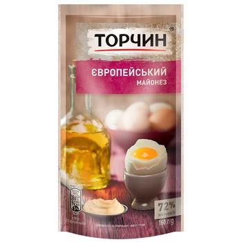 TORCHYN® Europeiskiy mayonnaise 160g - buy, prices for CityMarket - photo 1
