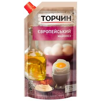 Майонез ТОРЧИН® Европейский 300г - купить, цены на Ашан - фото 1