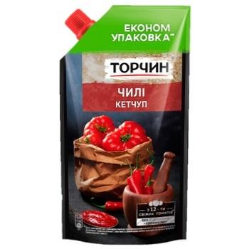 Кетчуп ТОРЧИН® Чили 400г - купить, цены на ЕКО Маркет - фото 1