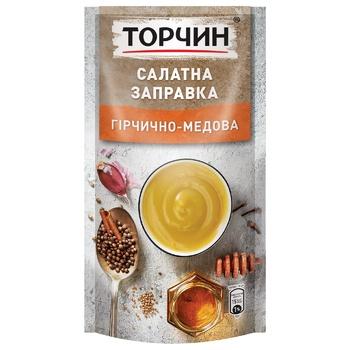 Салатна заправка ТОРЧИН® Гірчично-медова 140г - купити, ціни на Ашан - фото 1