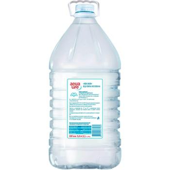 Вода питьевая Aqua Life негазированная 5л - купить, цены на ЕКО Маркет - фото 3