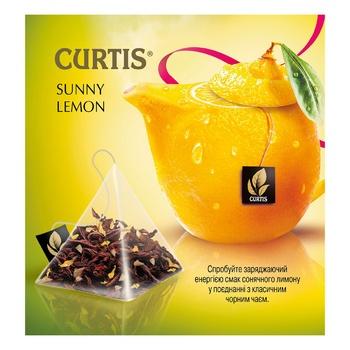 Чай черный Curtis Sunny Lemon в пирамидках 20шт*1,7г - купить, цены на Ашан - фото 4