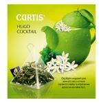 Чай зеленый Curtis Hugo Cocktail в пирамидках 20шт*1,8г - купить, цены на Ашан - фото 2