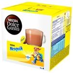 Какао-напиток NESCAFÉ® DOLCE GUSTO® Nesquik® быстрорастворимый в капсулах 16шт 256г