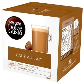 Кофе Nescafe® Dolce Gusto® Café au Lait в капсулах 16шт 160г