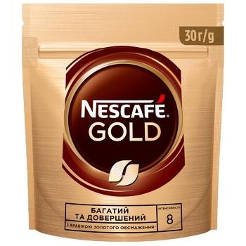 Кава NESCAFÉ® Gold розчинна 30г - купити, ціни на CітіМаркет - фото 1