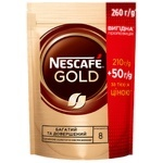 Кофе NESCAFÉ® Gold растворимый 210г +50г