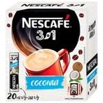 NESCAFÉ® 3-in-1 Coconut instant coffee drink stick 20*13g