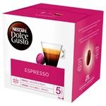 Кава NESCAFÉ® DOLCE GUSTO® Espresso в капсулах 16 шт 88г