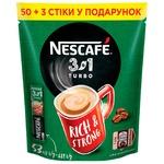 Напій кавовий NESCAFÉ® 3-в-1 Turbo розчиннийстік 53*13г
