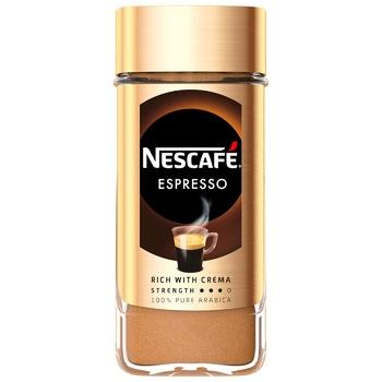 Кофе NESCAFÉ® Espresso растворимый стеклянная банка 100г