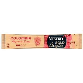 Кофе растворимый Nescafe Columbia Gold стик 1.8г
