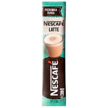 NESCAFÉ® Latte Instant Drink With Coffee Stick 16g - buy, prices for CityMarket - photo 1