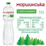 Мінеральна вода Моршинська природна слабогазована 1,5л - купити, ціни на CітіМаркет - фото 3
