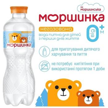 Вода минеральная Моршинская негазированная для детей 330мл - купить, цены на Метро - фото 2