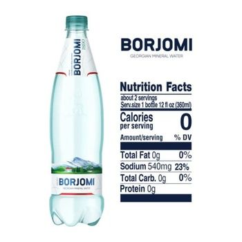 Borjomi Mineral Carbonated Water 0,75l - buy, prices for CityMarket - photo 4