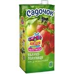 Sadochok Apple-strawberry Juice 0,95l